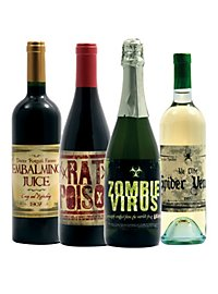 Halloween Bottle Labels Wine 2