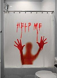 Halloween Duschvorhang Help Me