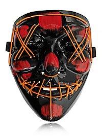 Halloween LED Mask orange