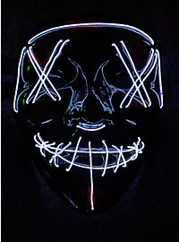 Halloween LED Mask white