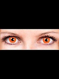 Halloween Orange Contact Lenses