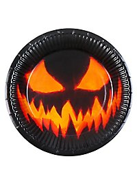 Halloween paper plates 6 pieces