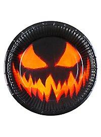 Halloween Pappteller 6 Stück