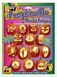 Halloween Pumpkin Face Book with Templates