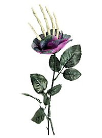Halloween Rose with Bone Hand