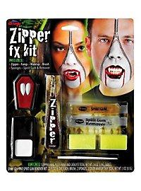 Haut Reißverschluss Vampir SFX