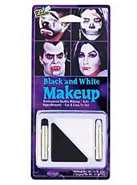 Make-Up Set Schwarz & Weiß Make-up