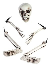 Halloween Skeleton Garden Decoration