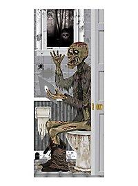 Halloween Türdeko Badezimmer