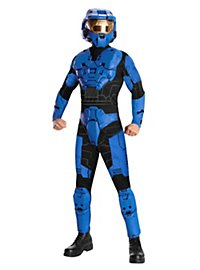 Halo Blue Spartan Mark VI Deluxe Costume