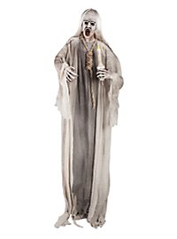 Hanged Ghost with Candle Halloween Decoration