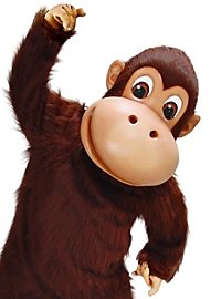 Happy Monkey Mascot