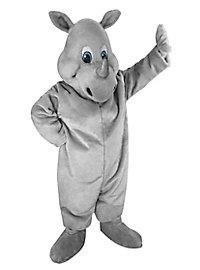 Happy Rhino Mascot
