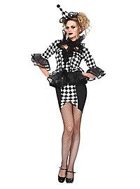 Harlekin Lady Kostüm