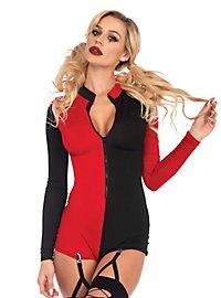 Harlequin Romper Suit