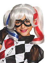 Harley Quinn Perücke für Kinder