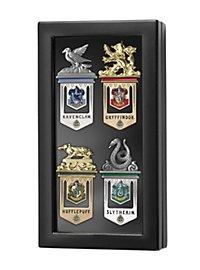 Harry Potter - Hogwarts Lesezeichen-Set mit Display-Box