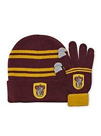Harry Potter - Kids Beanie & Handschuhe Set Gryffindor