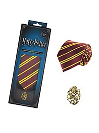 Harry Potter - Krawatte & Ansteck-Pin Deluxe Box Gryffindor