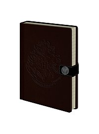 Harry Potter - Premium Notizbuch Hogwarts Wappen eingeprägt