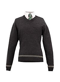 Harry Potter Slytherin Pullover mit Krawatte