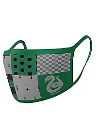 Harry Potter - Slytherin Stoffmasken Doppelpack