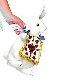 Hasen Handtasche weiß-gold