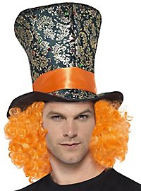 Hat maker top hat with hair