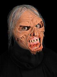 Haut und Knochen Zombiemaske aus Latex