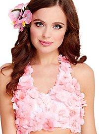 Hawaii halterneck top pink
