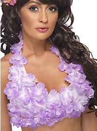 Hawaii halterneck top purple