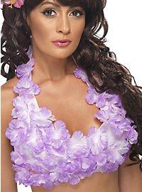 Hawaii Neckholder Top lila