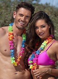 Hawaiiketten mehrfarbig 25 Stück