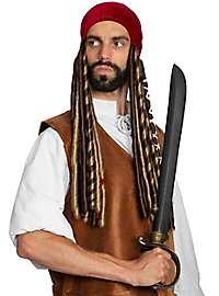 Headscarf with pirate dreads