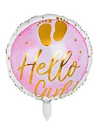 Hello Girl! Folienballon