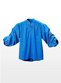 Schnürhemd - Knecht blau