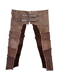 Leather tassets - Hero brown