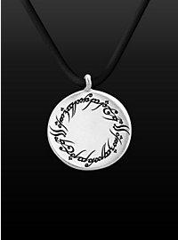 Herr der Ringe Amulett mit elbischer Inschrift