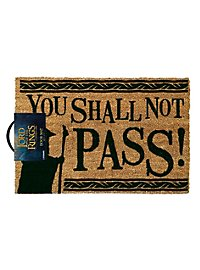 Herr der Ringe - Fussmatte You shall not Pass