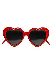 Herz Sonnenbrille