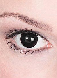 Schwarze Kontaktlinsen Hexe