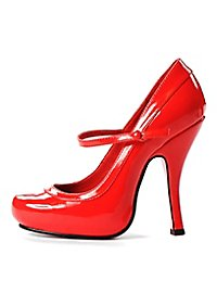 High Heels Damenschuhe rot