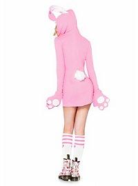 Hinreißender Hase Hoodie Dress