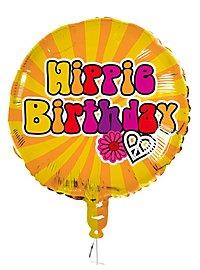 Hippie Birthday Folienballon