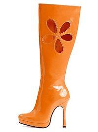 Hippie boots orange