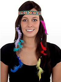 Hippie Feather Headdress