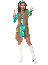 Hippie fringe dress