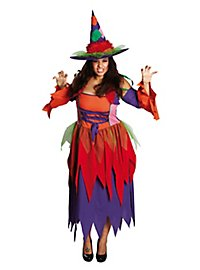 Hippie Hexe Plus Size Kostüm