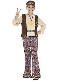 Hippie Kinderkostüm für Jungs