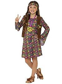 Hippie Kinderkostüm für Mädchen